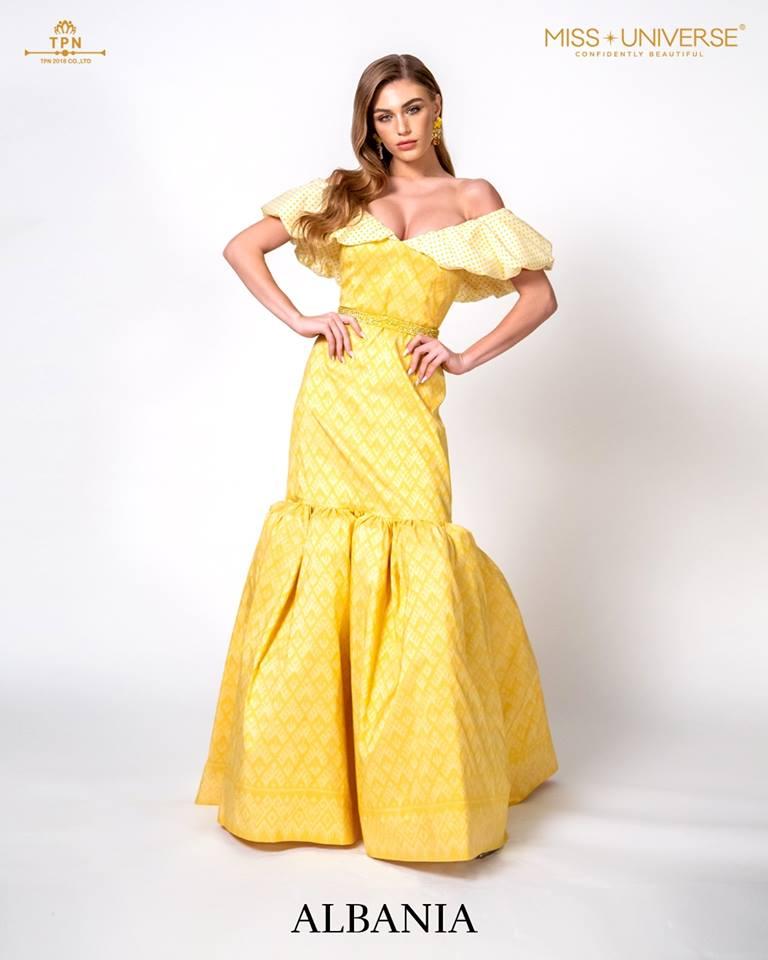 © Miss Universe 2018  © Thai Silk Portraits  ©  Albani14