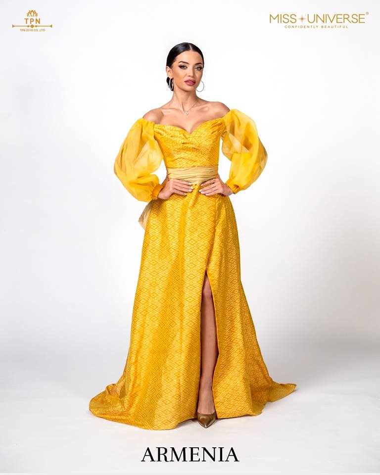 © Miss Universe 2018  © Thai Silk Portraits  ©  Armeni11