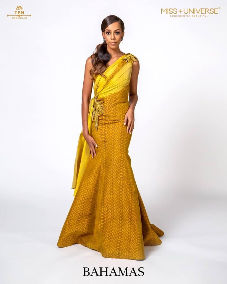 © Miss Universe 2018  © Thai Silk Portraits  ©  Bahama14