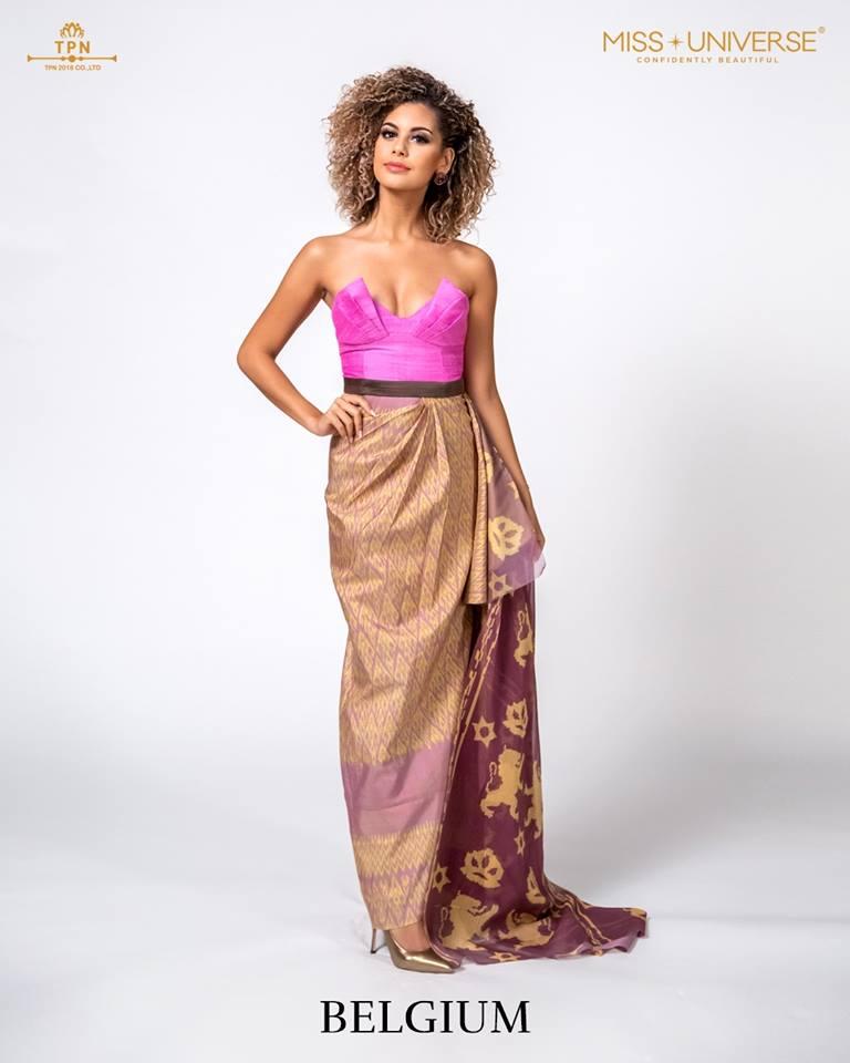 © Miss Universe 2018  © Thai Silk Portraits  ©  Belgiu17