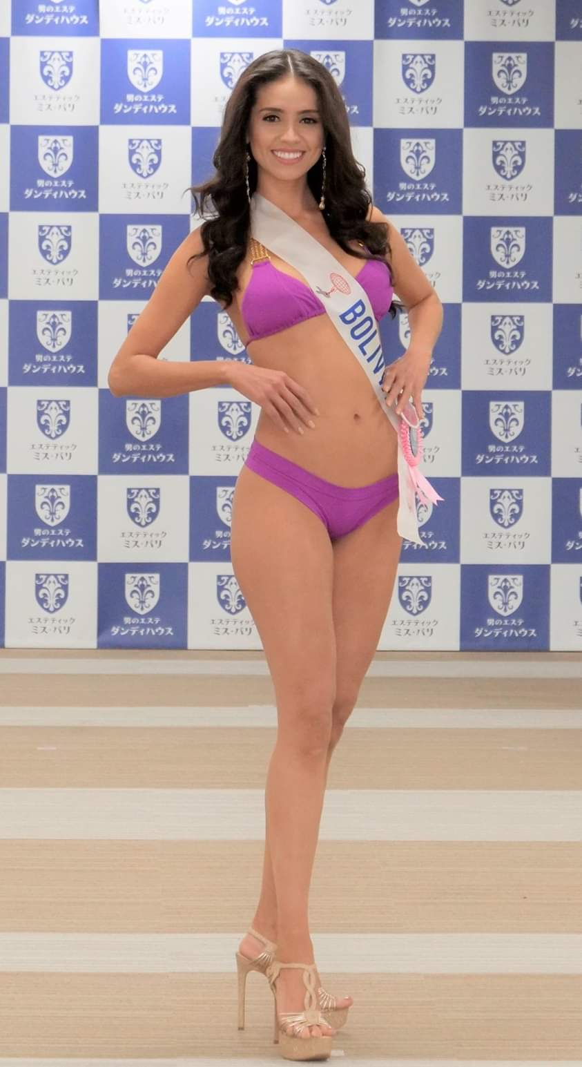 Round 50th : Miss International 2018 Bolivi12