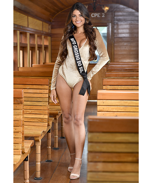 Round 4th : Miss Brasil 2019 Candid21
