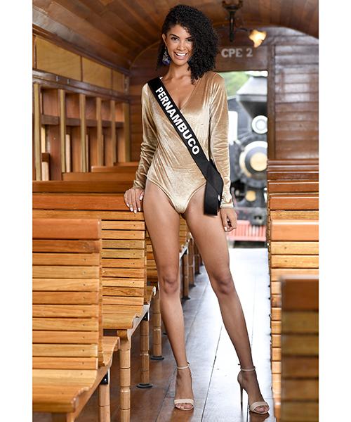Round 4th : Miss Brasil 2019 Candid26