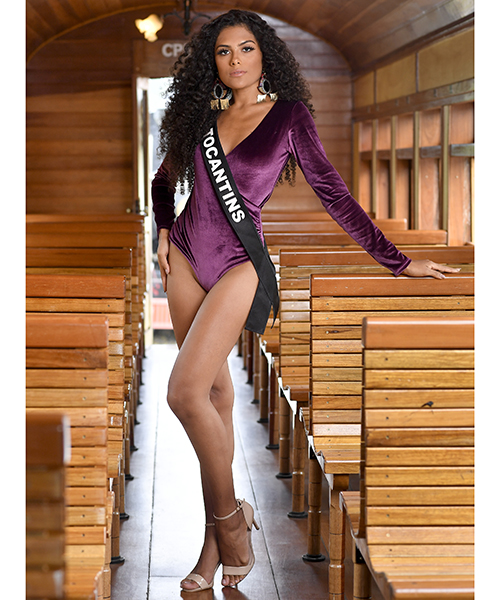 Round 4th : Miss Brasil 2019 Candid37
