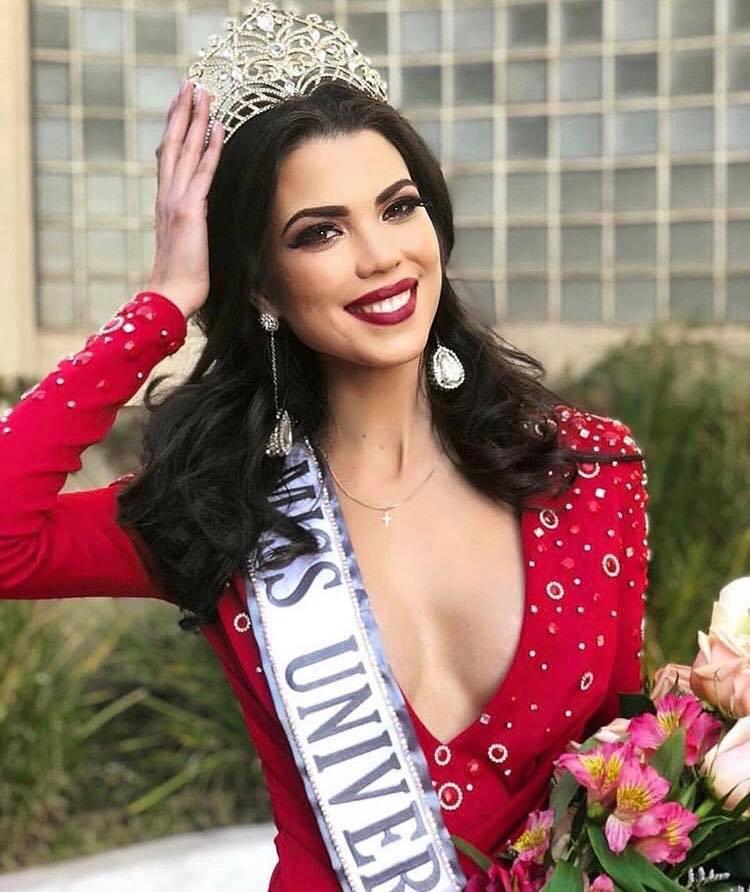 MISS UNIVERSE CHILE 2018 is Andrea Diaz Chile10
