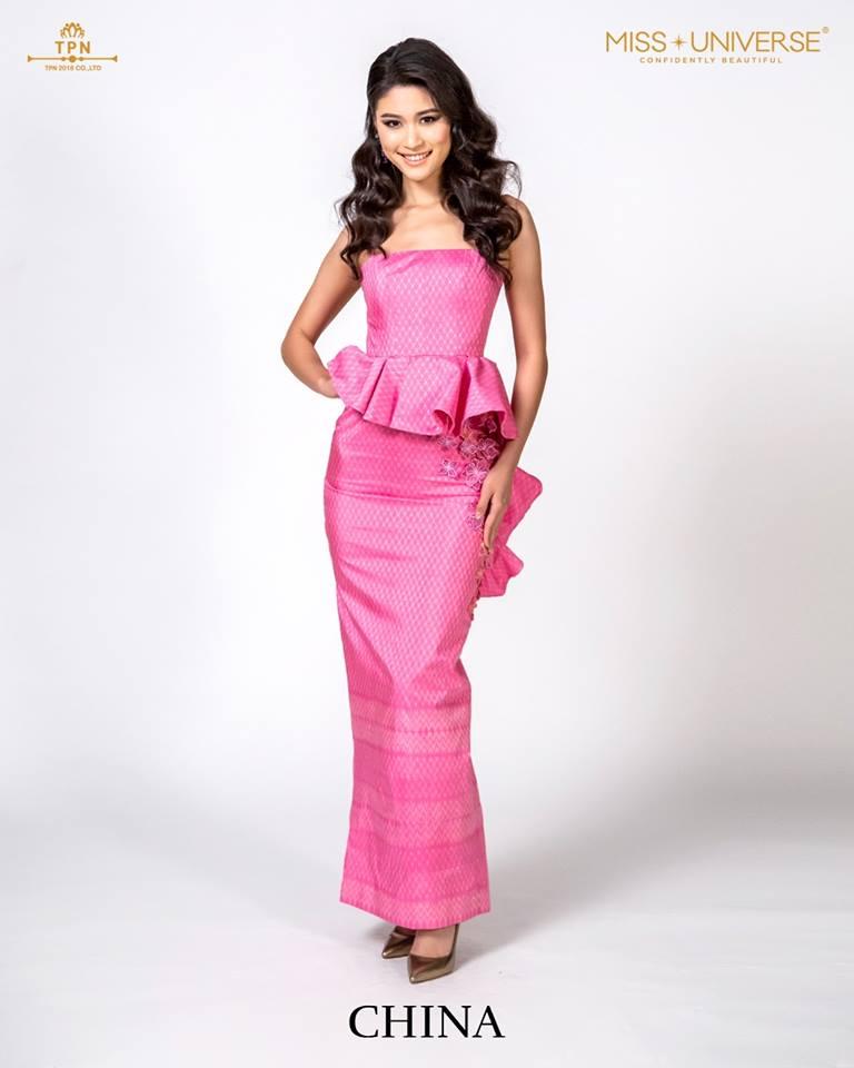 © Miss Universe 2018  © Thai Silk Portraits  ©  China13