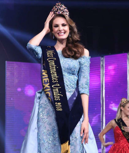 Miss United Continents 2018: Andrea Sáenz of MEXICO Cont210