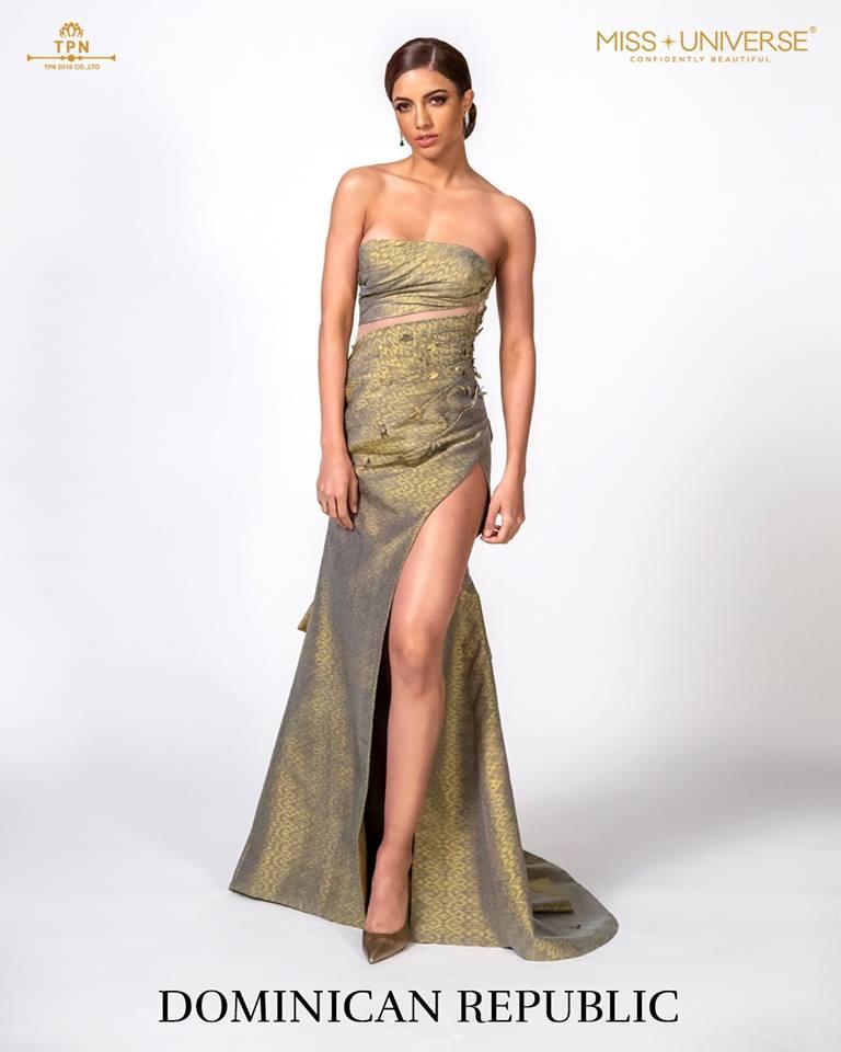 © Miss Universe 2018  © Thai Silk Portraits  ©  Domini12