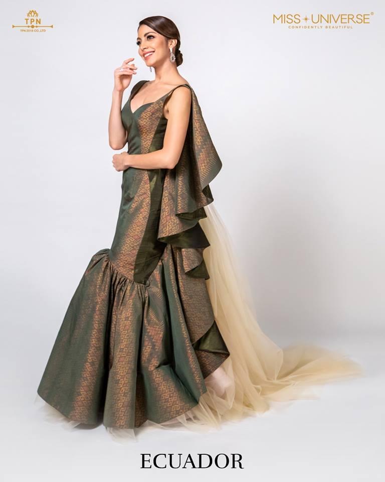 © Miss Universe 2018  © Thai Silk Portraits  ©  Ecuado12