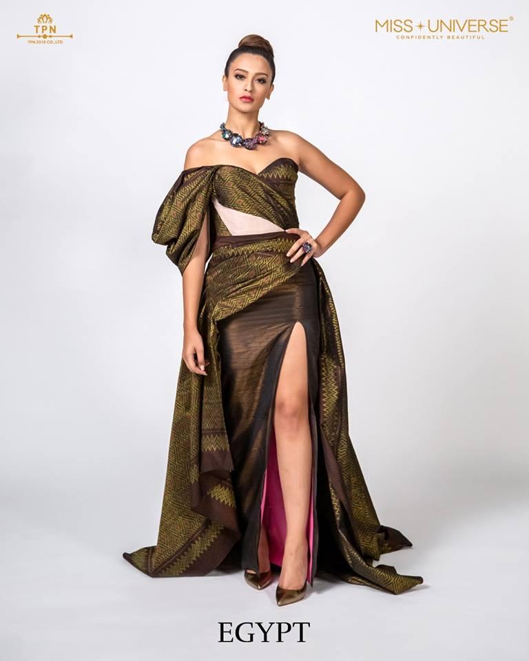 © Miss Universe 2018  © Thai Silk Portraits  ©  Egypt12
