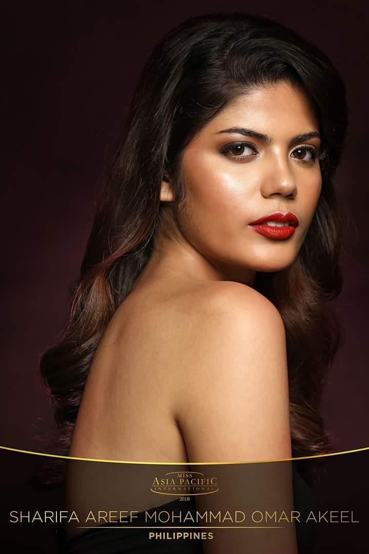 Miss Asia Pacific International 2018 is Sharifa Areef Mohammad Omar Akeel of the PHILIPPINES Fb_im327