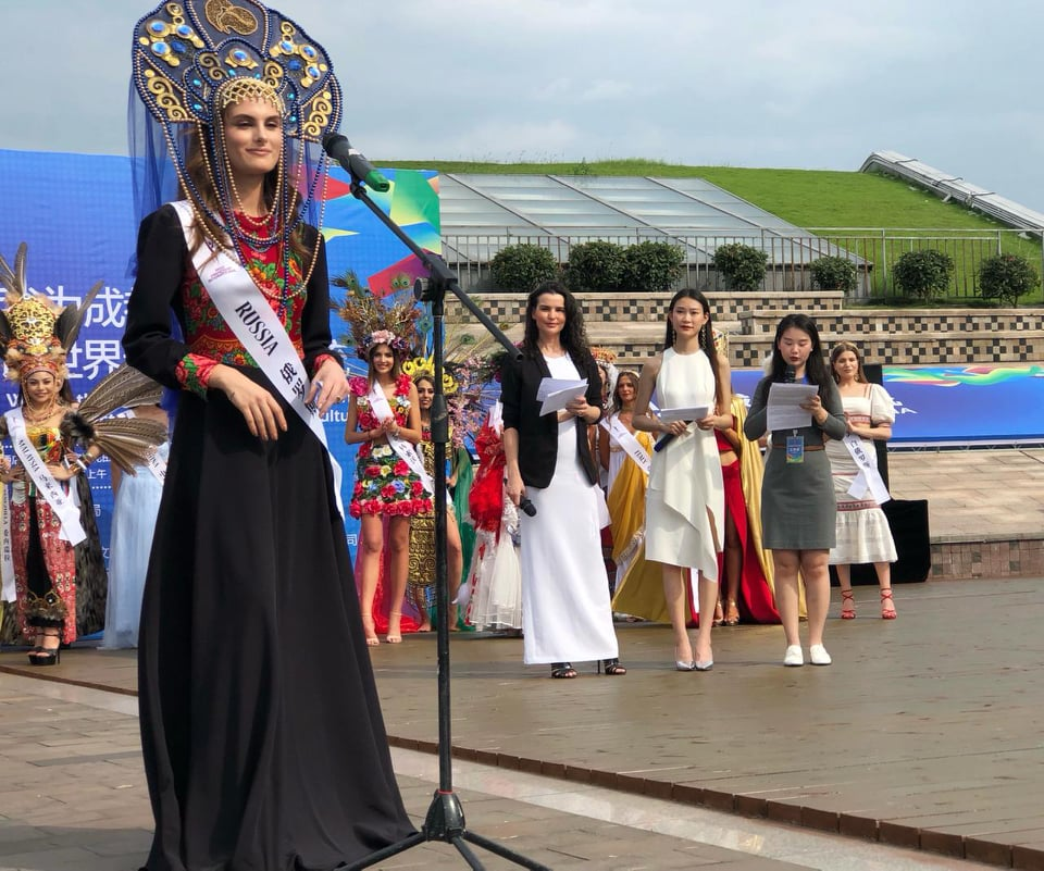 Miss Friendship International 2019 kicks off in Chengdu, China Fi1310