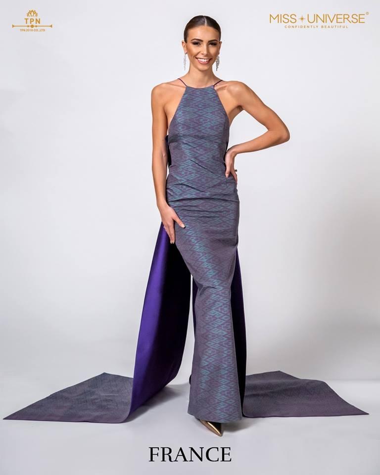 © Miss Universe 2018  © Thai Silk Portraits  ©  France12