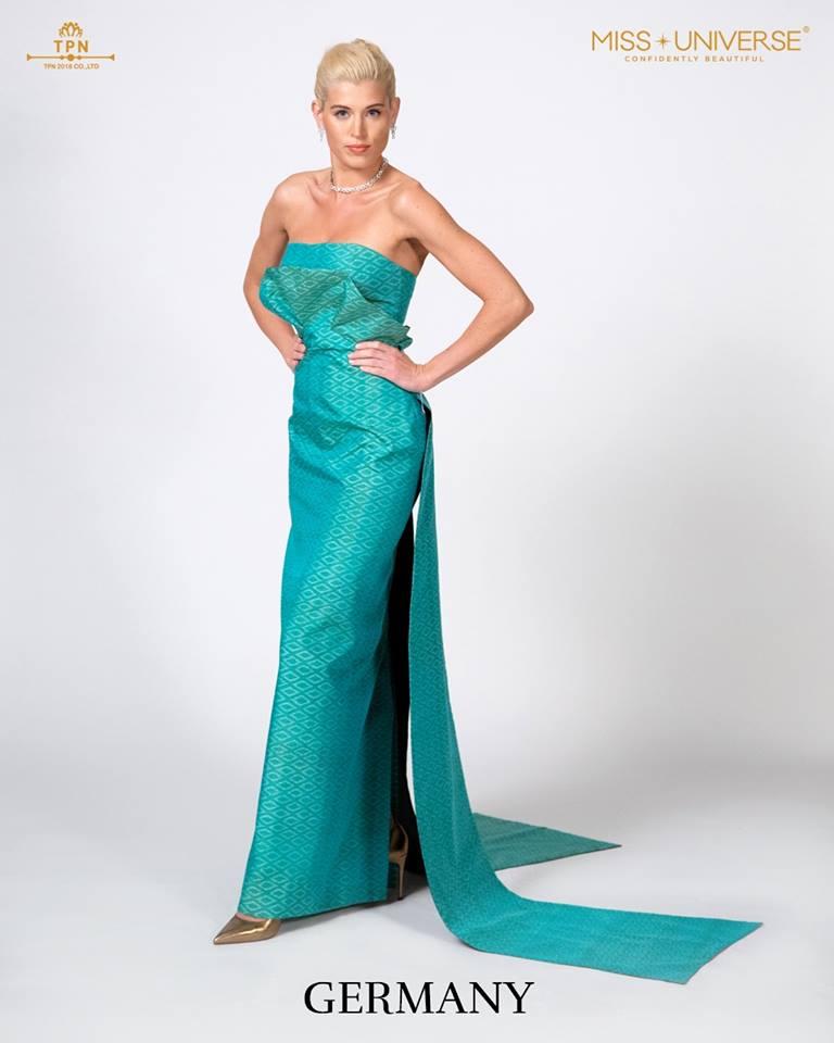 © Miss Universe 2018  © Thai Silk Portraits  ©  German14