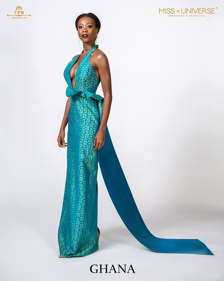 © Miss Universe 2018  © Thai Silk Portraits  ©  Ghana13