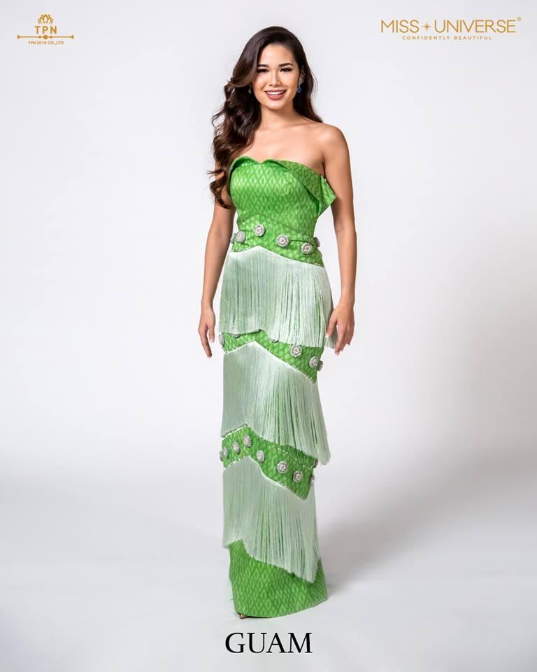 © Miss Universe 2018  © Thai Silk Portraits  ©  Guam10
