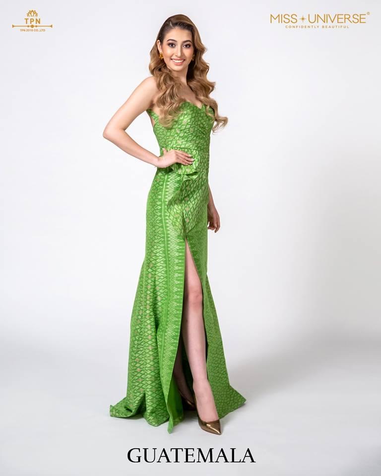 © Miss Universe 2018  © Thai Silk Portraits  ©  Guatem12