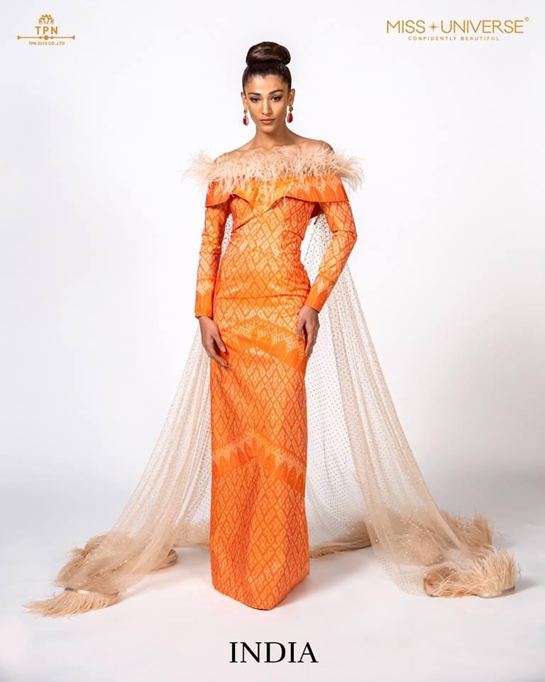 © Miss Universe 2018  © Thai Silk Portraits  ©  India13