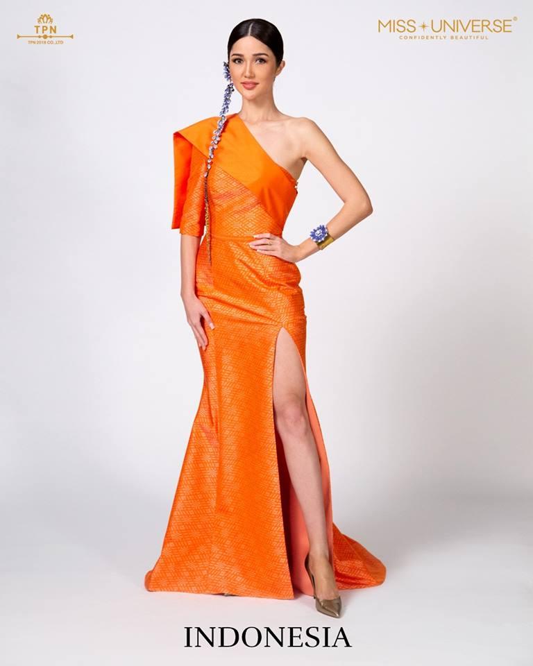© Miss Universe 2018  © Thai Silk Portraits  ©  Indone15