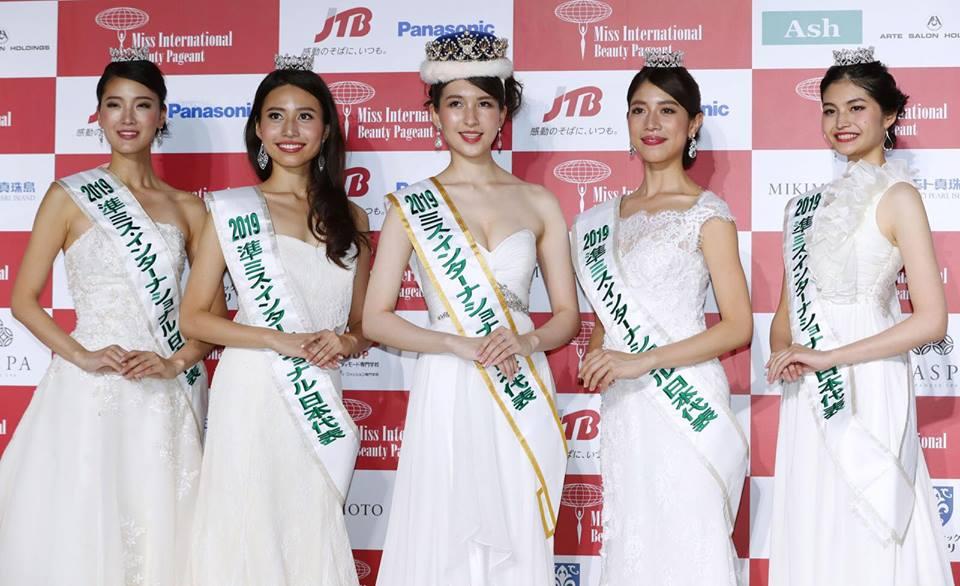 Miss International Japan 2019 RESULTS Japan12