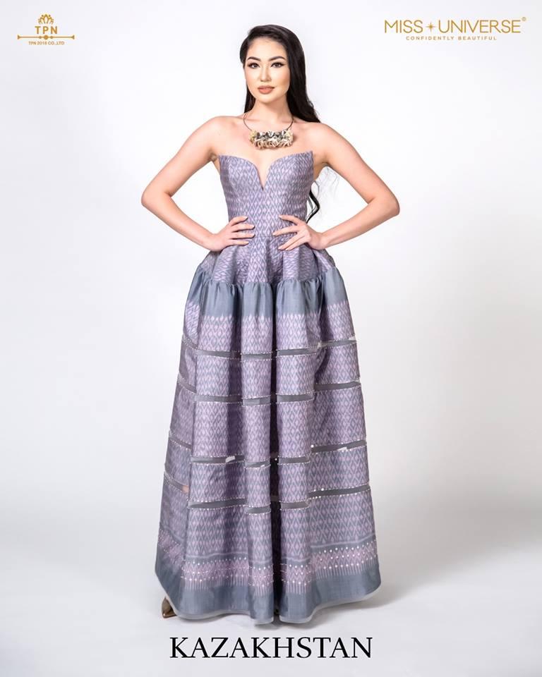 © Miss Universe 2018  © Thai Silk Portraits  ©  Kazakh13