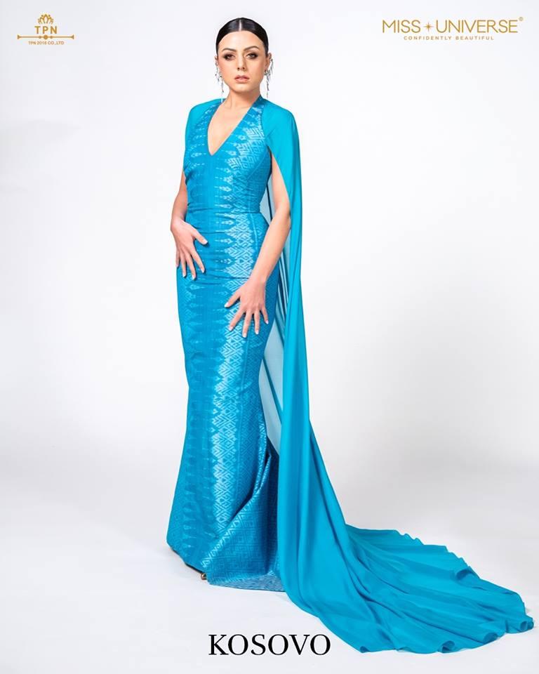 © Miss Universe 2018  © Thai Silk Portraits  ©  Kosovo13