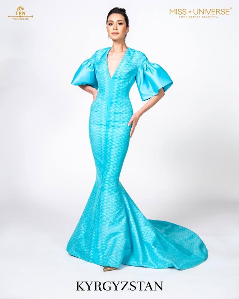© Miss Universe 2018  © Thai Silk Portraits  ©  Kyrgyz11