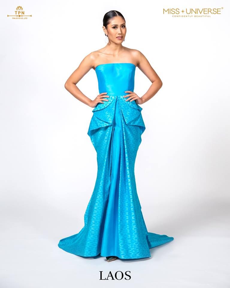 © Miss Universe 2018  © Thai Silk Portraits  ©  Laos12