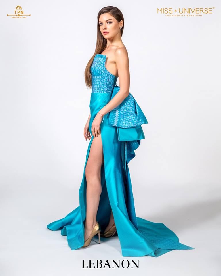 © Miss Universe 2018  © Thai Silk Portraits  ©  Lebano13