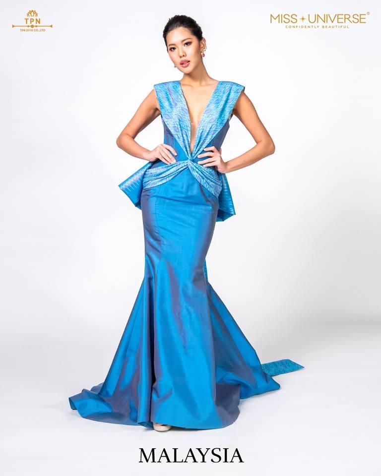 © Miss Universe 2018  © Thai Silk Portraits  ©  Malays13