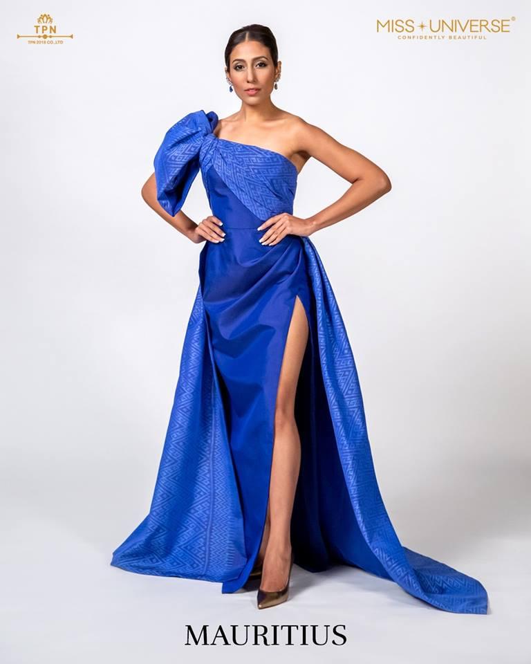 © Miss Universe 2018  © Thai Silk Portraits  ©  Maurit11