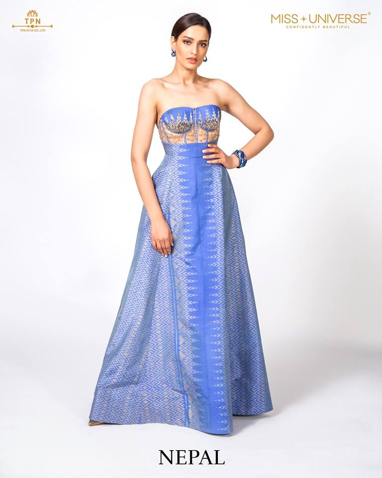 © Miss Universe 2018  © Thai Silk Portraits  ©  Nepal11