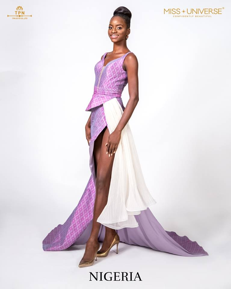 © Miss Universe 2018  © Thai Silk Portraits  ©  Nigeri17