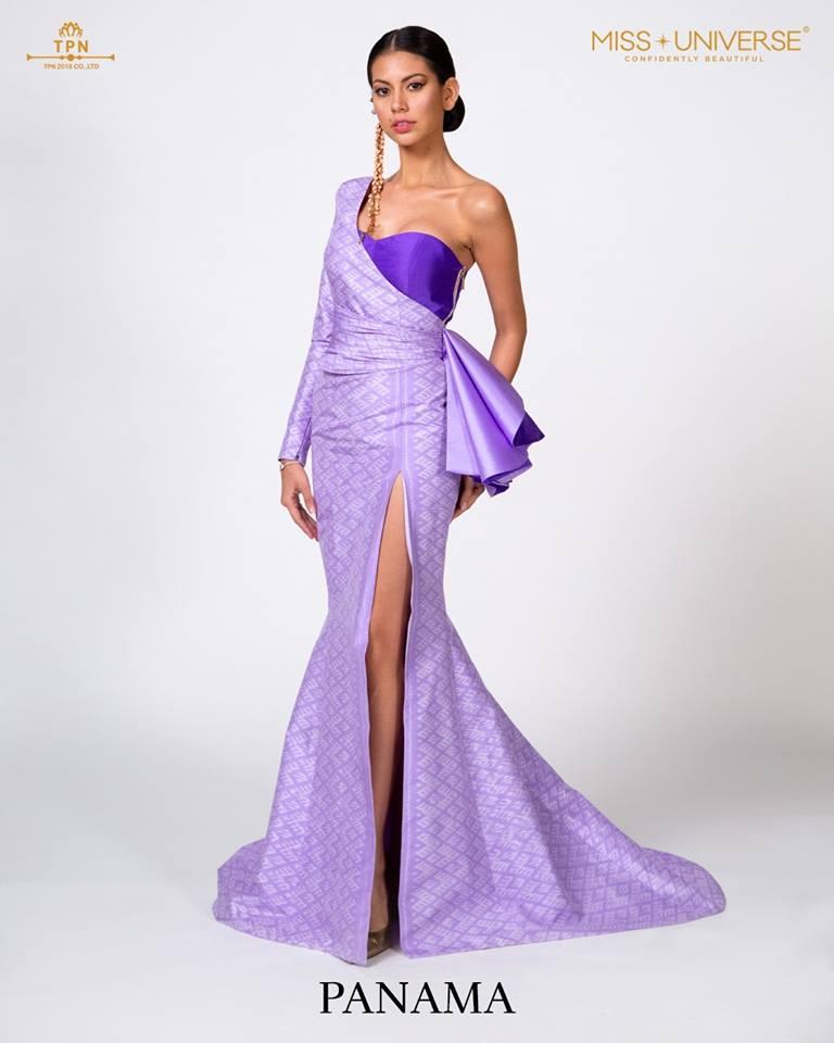 © Miss Universe 2018  © Thai Silk Portraits  ©  Panama13