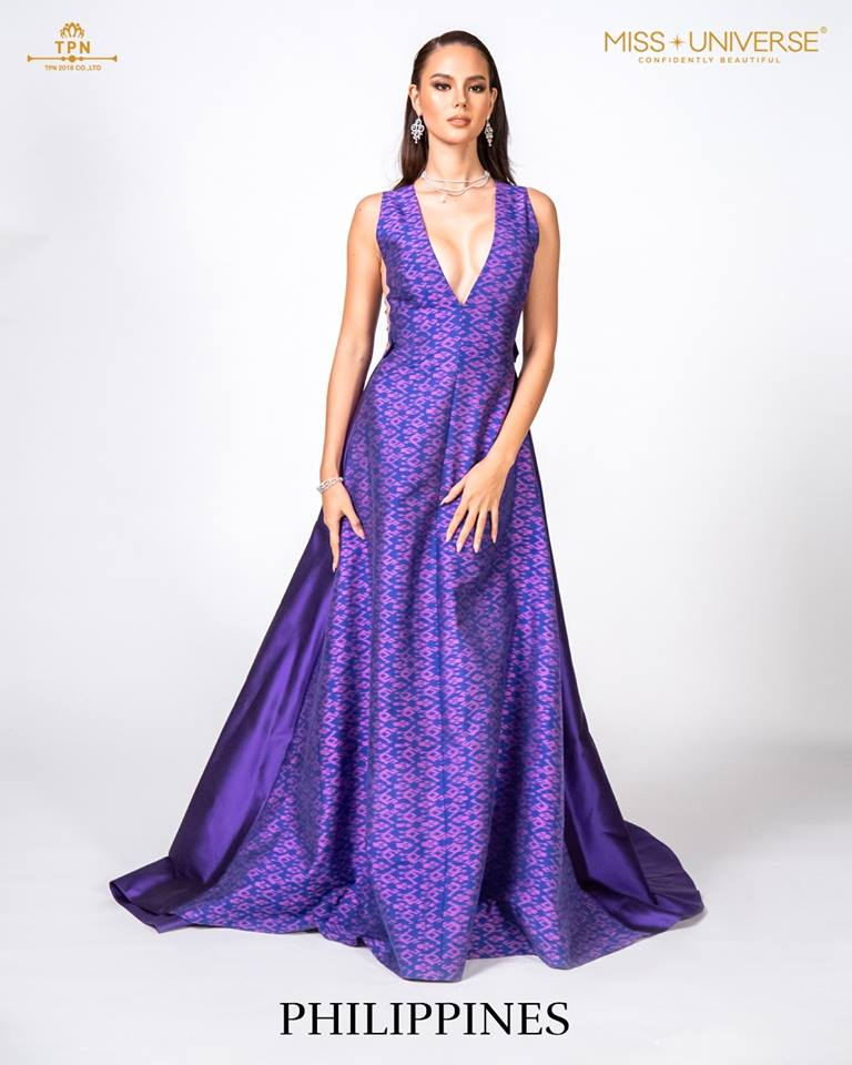 © Miss Universe 2018  © Thai Silk Portraits  ©  Philip15