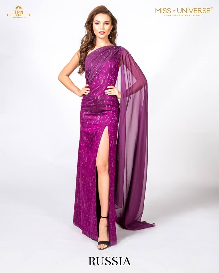 © Miss Universe 2018  © Thai Silk Portraits  ©  Russia13