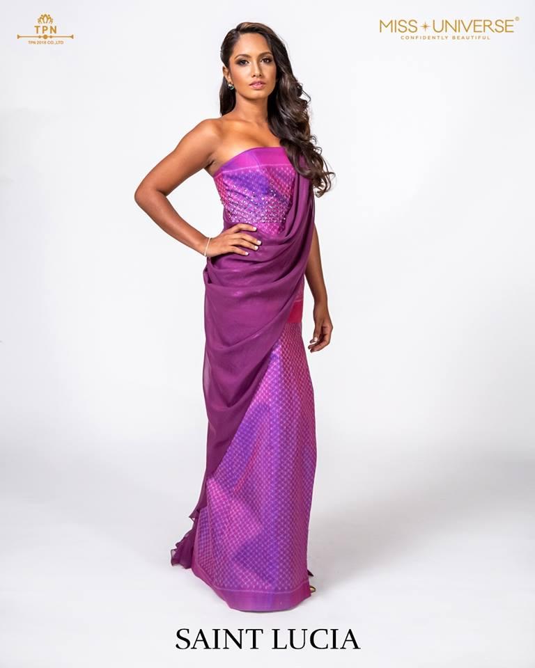 © Miss Universe 2018  © Thai Silk Portraits  ©  Saint_10