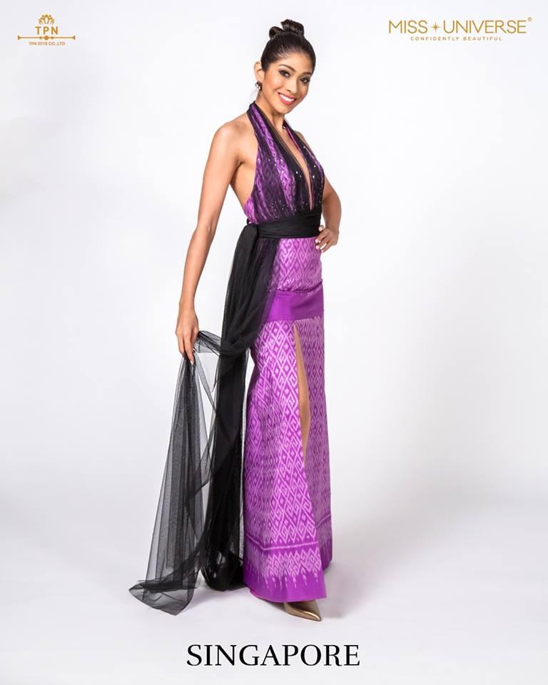 © Miss Universe 2018  © Thai Silk Portraits  ©  Singap11