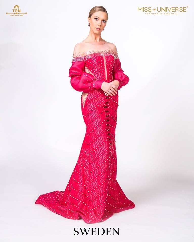 © Miss Universe 2018  © Thai Silk Portraits  ©  Sweden14