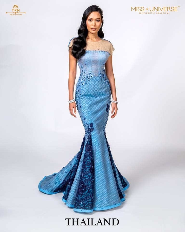 © Miss Universe 2018  © Thai Silk Portraits  ©  Thaila17