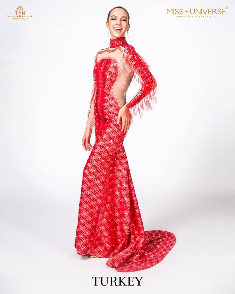 © Miss Universe 2018  © Thai Silk Portraits  ©  Turkey12