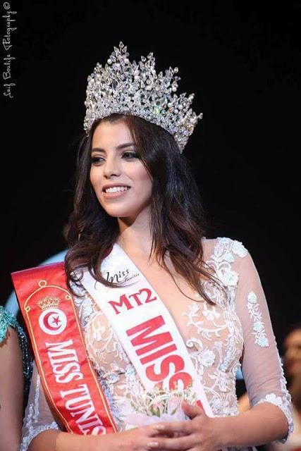 Miss Tunisia 2019 is Sabrine Khalifa Mansour  W18tun10