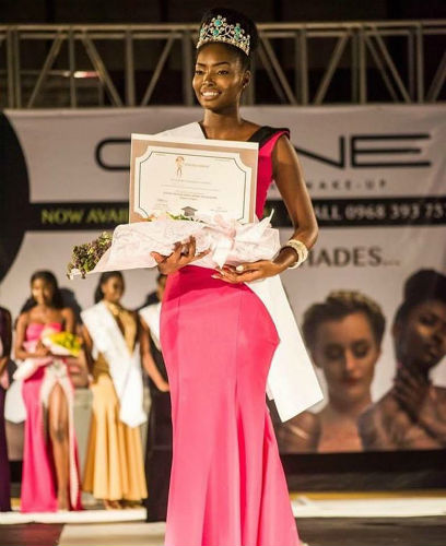 MISS UNIVERSE ZAMBIA 2018 is Melba Shakabozha Zambia10