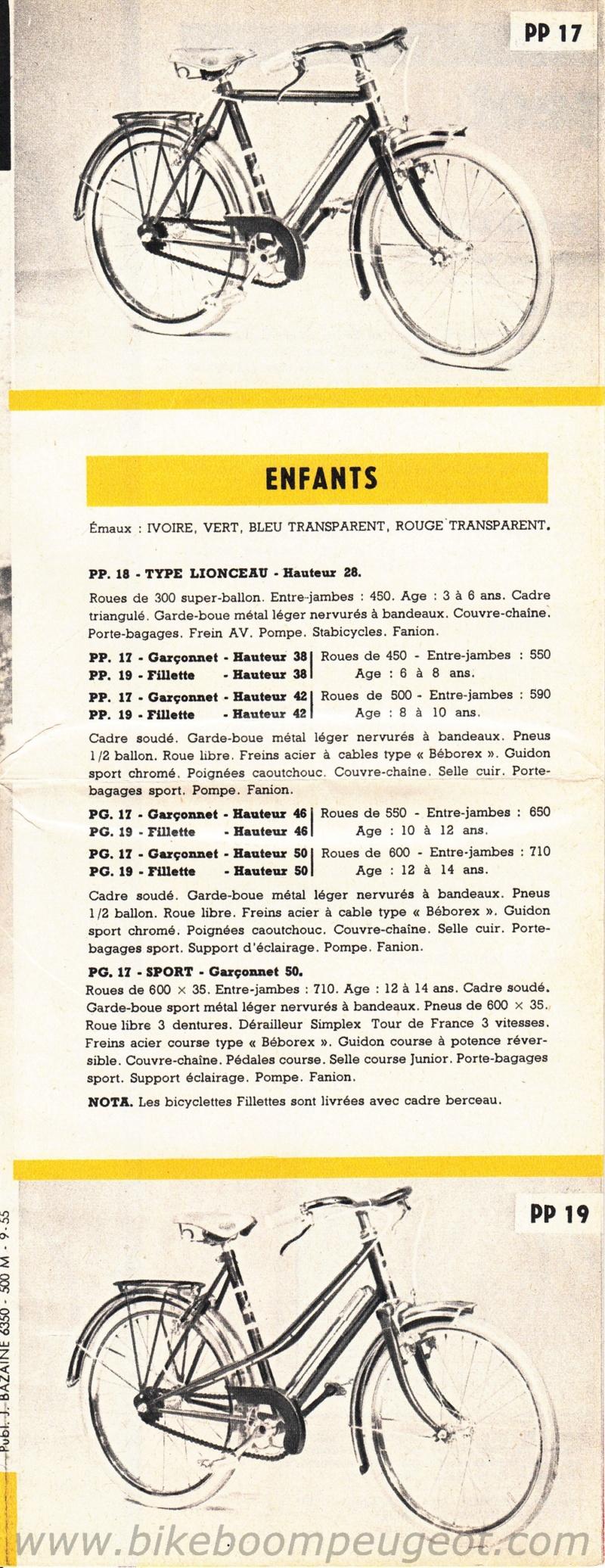 peugeot enfant années 50  195610