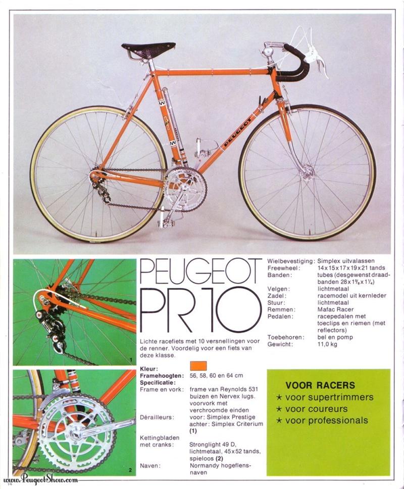 peugeot PR10  1975nl10