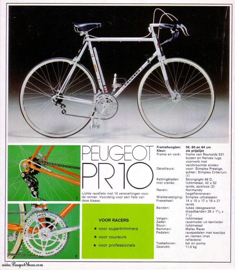 Peugeot PR-10 1973 (Reynold) 1976nl10