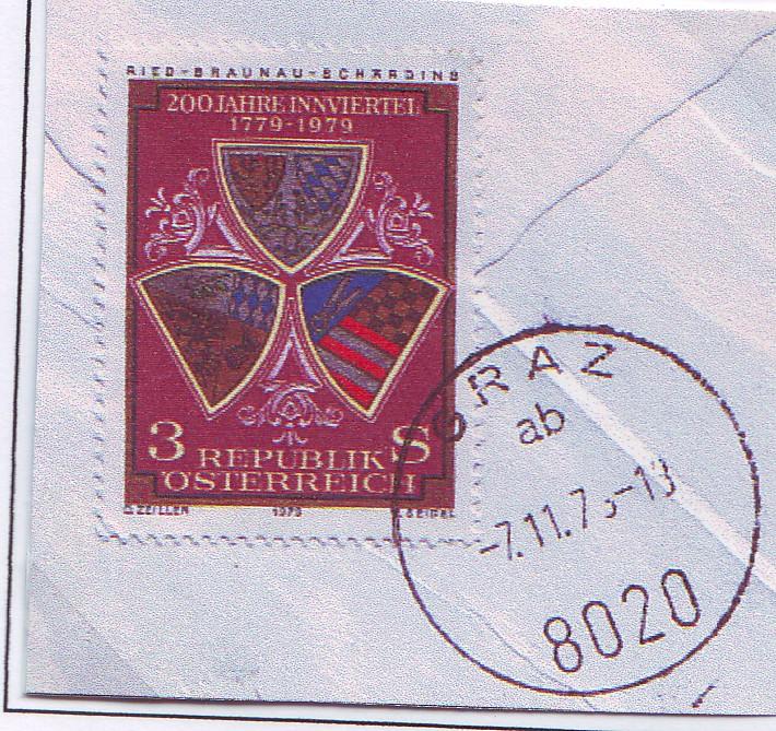 Sammlung Bedarfsbriefe Österreich ab 1945 - Seite 2 1979_e12