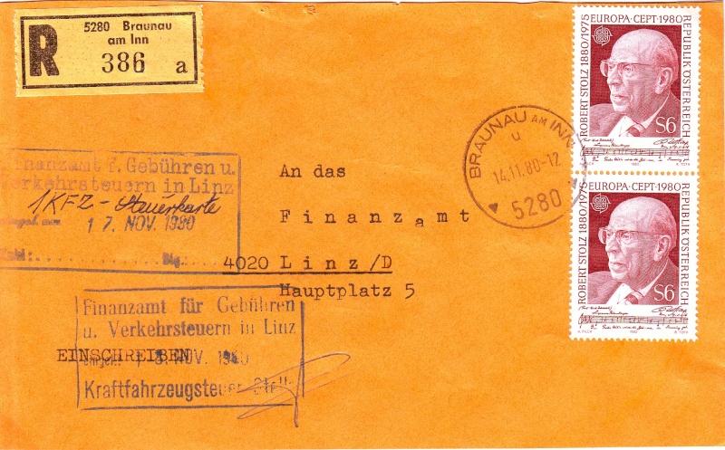 Sammlung Bedarfsbriefe Österreich ab 1945 - Seite 2 198010