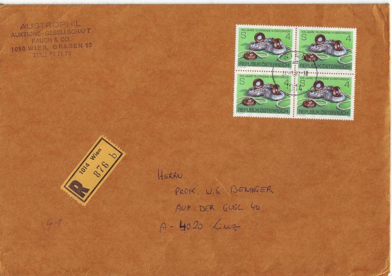 Sammlung Bedarfsbriefe Österreich ab 1945 - Seite 2 198110