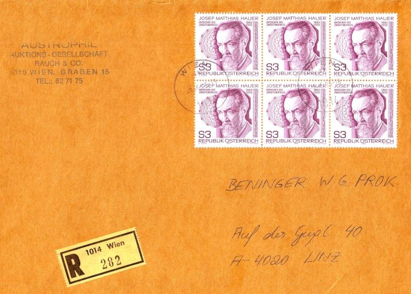 Sammlung Bedarfsbriefe Österreich ab 1945 - Seite 2 198310